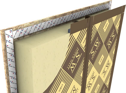 スーパーウォール工法 制震テープ