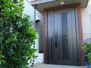 玄関リフォーム ドア