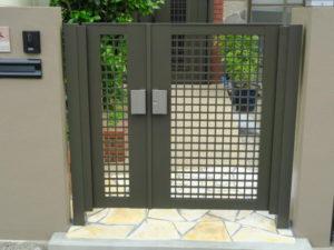玄関リフォーム 門扉